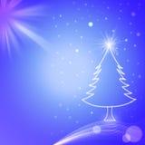 Kerstmisachtergrond en seizoengroet #2 Stock Foto