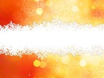 Kerstmisachtergrond met exemplaarruimte. EPS 10 Royalty-vrije Stock Afbeelding