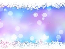 Kerstmisachtergrond met exemplaarruimte. EPS 10 Royalty-vrije Stock Afbeeldingen