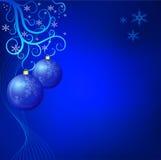 Kerstmisachtergrond van Grunge Stock Foto's