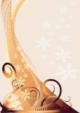 Kerstmisachtergrond van Grunge Royalty-vrije Stock Fotografie