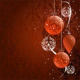 Kerstmisachtergrond. Vector Royalty-vrije Stock Afbeeldingen