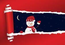 Kerstmisachtergrond in vector vector illustratie