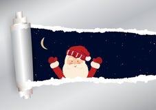 Kerstmisachtergrond in vector stock illustratie