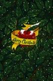 Kerstmisappel Stock Afbeelding