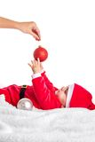 Kerstmisbaby Royalty-vrije Stock Foto