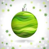 Kerstmisbal Stock Afbeelding