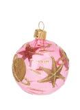 Kerstmisbal van het glas royalty-vrije stock foto's