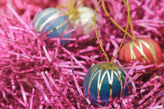 Kerstmisballen Royalty-vrije Stock Afbeelding