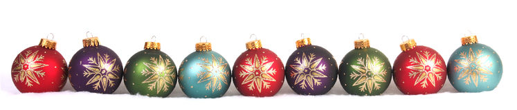 Kerstmisballen Stock Foto's