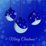 Kerstmisballen Stock Fotografie