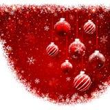 Kerstmisballen royalty-vrije illustratie