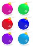 Kerstmisballen Royalty-vrije Stock Fotografie