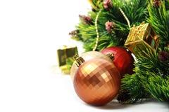 Kerstmisballen van de kleur Royalty-vrije Stock Fotografie