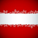 Kerstmisbanner Stock Foto's