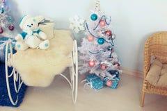Kerstmisbinnenland Stock Afbeeldingen