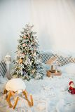 Kerstmisbinnenland Royalty-vrije Stock Afbeeldingen