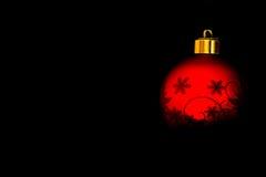 Kerstmisbol Stock Foto's