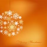 Kerstmisbol Royalty-vrije Stock Foto's