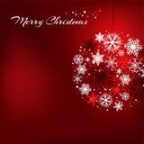 Kerstmisbol Royalty-vrije Stock Fotografie