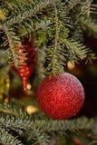 Kerstmisbollen Stock Afbeeldingen
