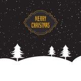 Kerstmisboom Royalty-vrije Stock Afbeelding