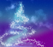 Kerstmisboom van de sneeuwvlok Royalty-vrije Stock Afbeeldingen