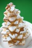 Kerstmisboom van het koekje stock afbeeldingen