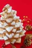 Kerstmisboom van het koekje royalty-vrije stock fotografie