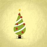 Kerstmisboom van Nice Royalty-vrije Stock Afbeelding
