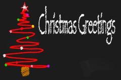 Kerstmisbord vector illustratie