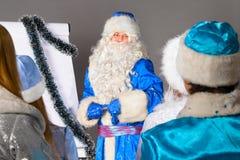 Kerstmisbus Stock Foto's