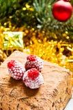Kerstmiscake Stock Afbeelding