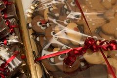 Kerstmiscakes Royalty-vrije Stock Afbeeldingen