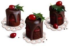 Kerstmiscakes royalty-vrije illustratie