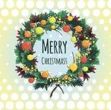 Kerstmischaplet Stock Foto's
