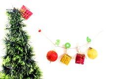 Kerstmisconcept, abstracte achtergrond voor gelukkig nieuw jaar 2016 Stock Afbeeldingen