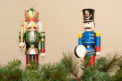 Kerstmiscrackers Stock Foto's
