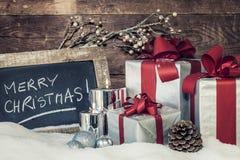 Kerstmisdag Royalty-vrije Stock Afbeeldingen