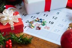 Kerstmisdag Royalty-vrije Stock Fotografie