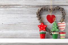 Kerstmisdecor. Stock Foto