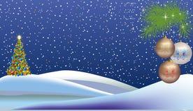 Kerstmisdecoratie vector illustratie