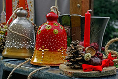 Kerstmisdecoratie 2 Royalty-vrije Stock Fotografie