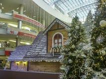 Kerstmisdecoratie bij Wandelgalerij stock foto's