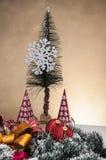 Kerstmisdecoratie en de winterthema Royalty-vrije Stock Fotografie