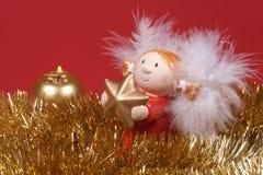 Kerstmisdecoratie, engel stock foto