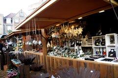 Kerstmisdecoratie in Flensbirg Royalty-vrije Stock Afbeeldingen