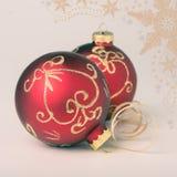 Kerstmisdecoratie, gestemd beeld Stock Afbeelding
