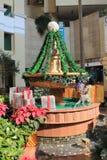 Kerstmisdecoratie in hau Hong Royalty-vrije Stock Foto