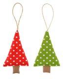 Kerstmisdecoratie - Kerstboom Stock Afbeeldingen